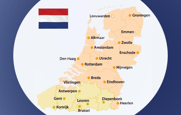 Dutch in Flanders and Holland