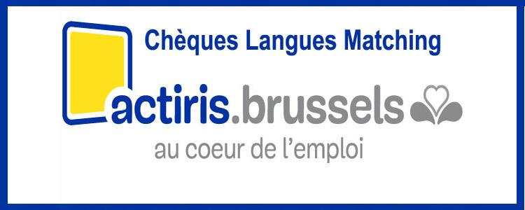 Chèques langues Actiris