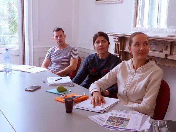 intensive language courses Belgium