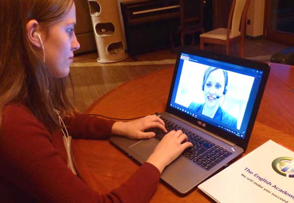 apprentissage en ligne d'une langue