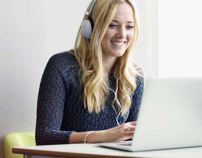 distance learning english group lessons